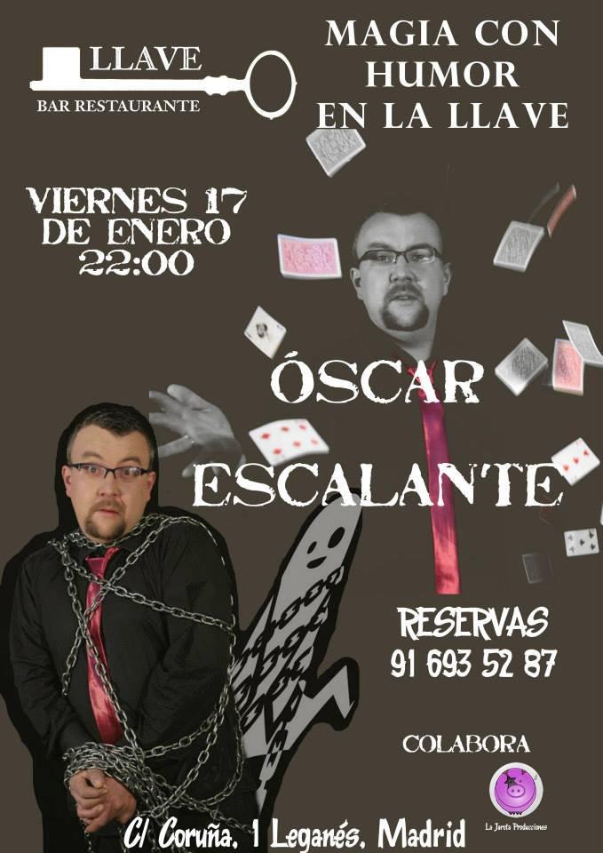 Oscar Escalante en Restaurante La Llave
