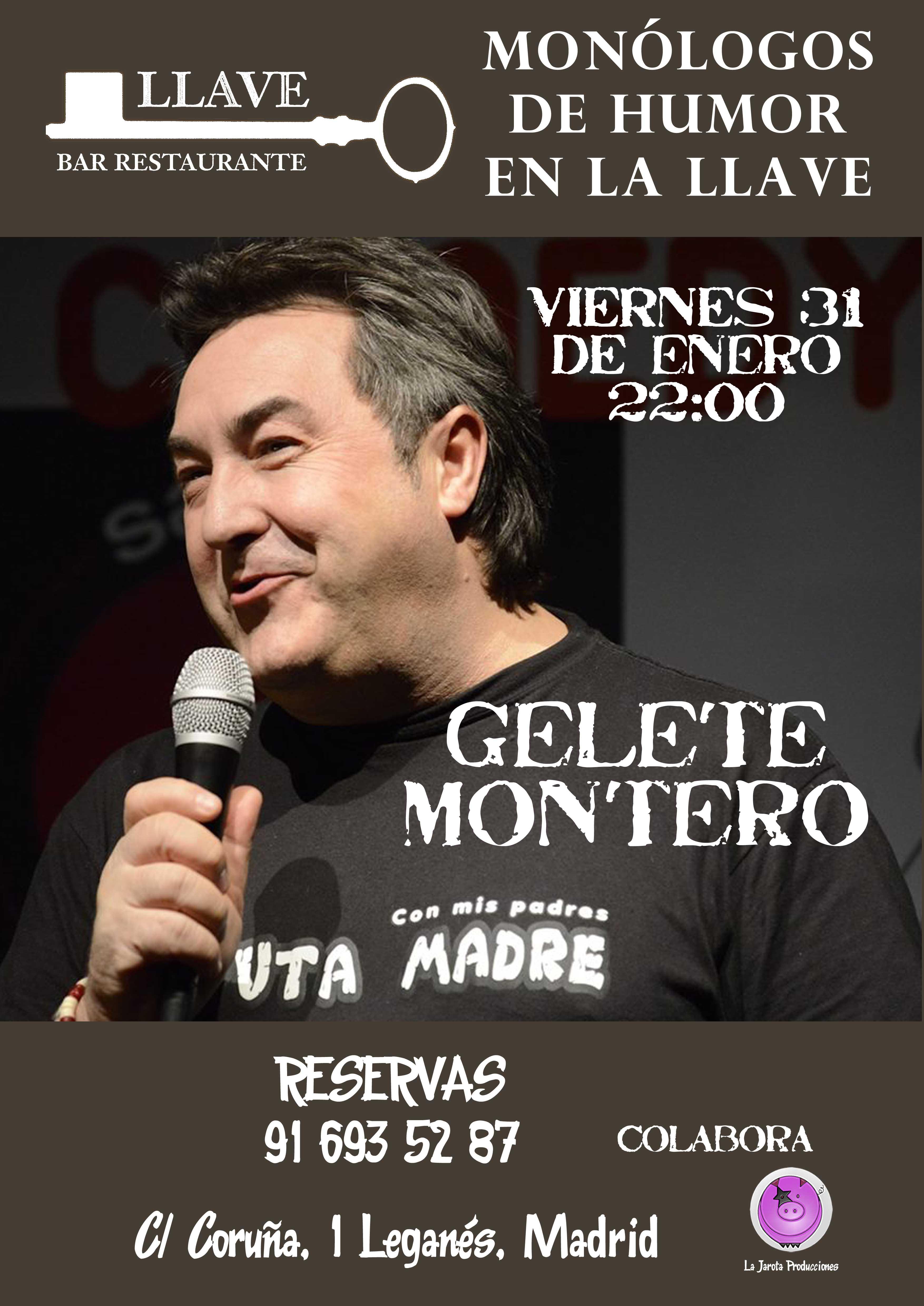 Gelete Montero en Restaurante La Llave
