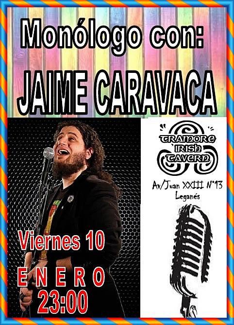 Jaime Caravaca en el Tramore Irish Tavern