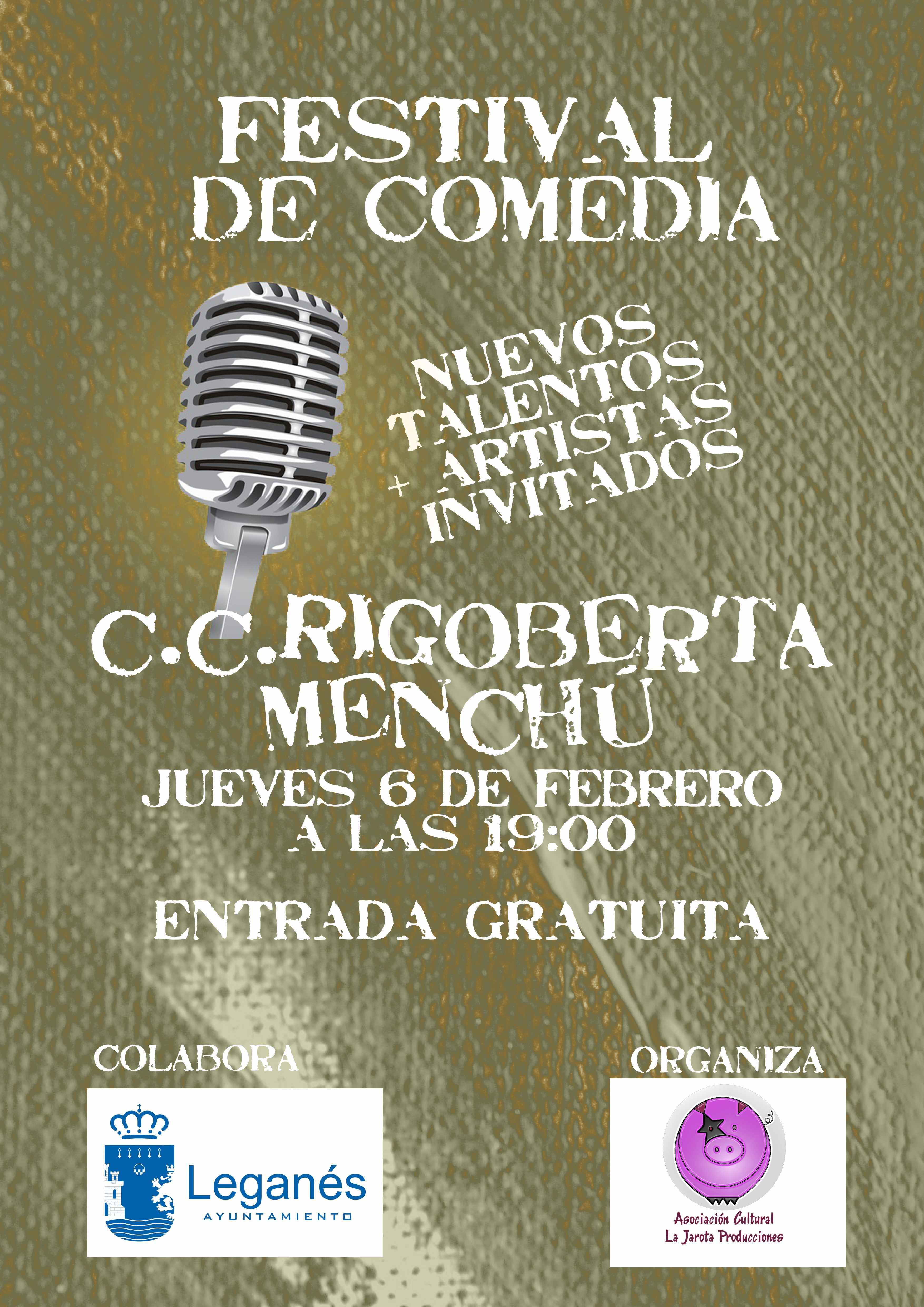 ¡Festival de Comedia en Leganés!