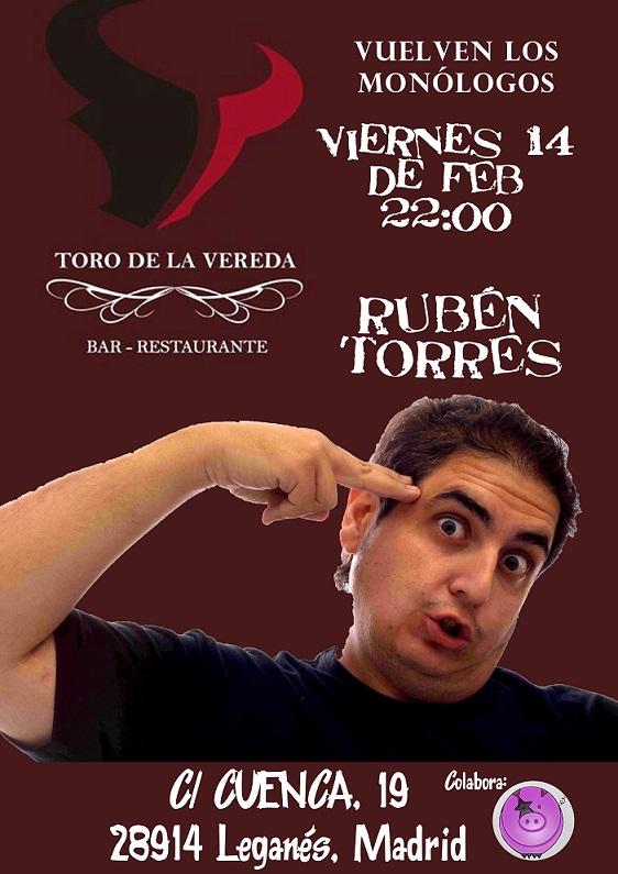 Rubén Torres en el Toro de la Vereda