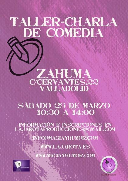 Taller - Charla de Comedia en Valladolid
