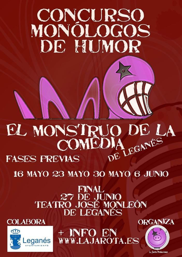 "I Concurso Nacional de Monólogos de Humor ""El Monstruo de la Comedia"" de Leganés"