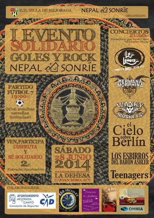 """Festival Solidario """"Goles y Rock"""""""