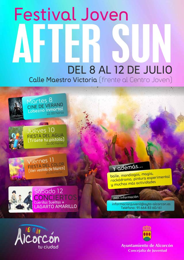 Festival Joven AFTER SUN de Alcorcón