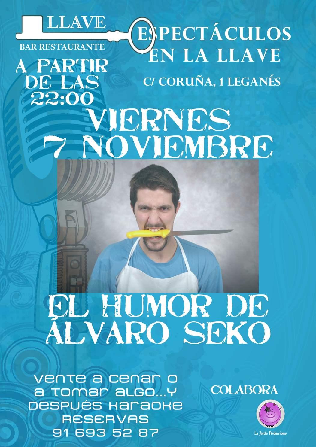 Álvaro Seko en Restaurante La Llave