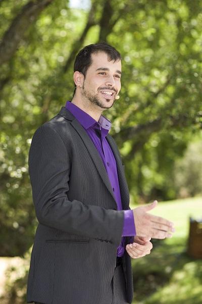 Andrés Madruga, todo un maestro de ceremonias
