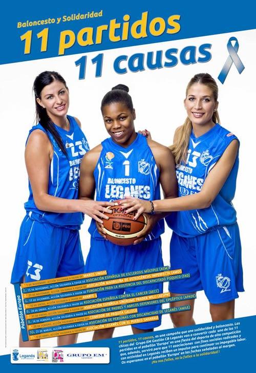 Partido de Baloncesto Femenino para AMOI