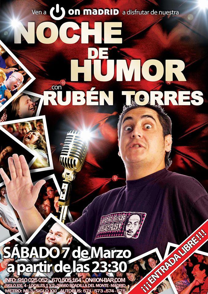¡Vuelven las Noches de Humor a On Madrid!