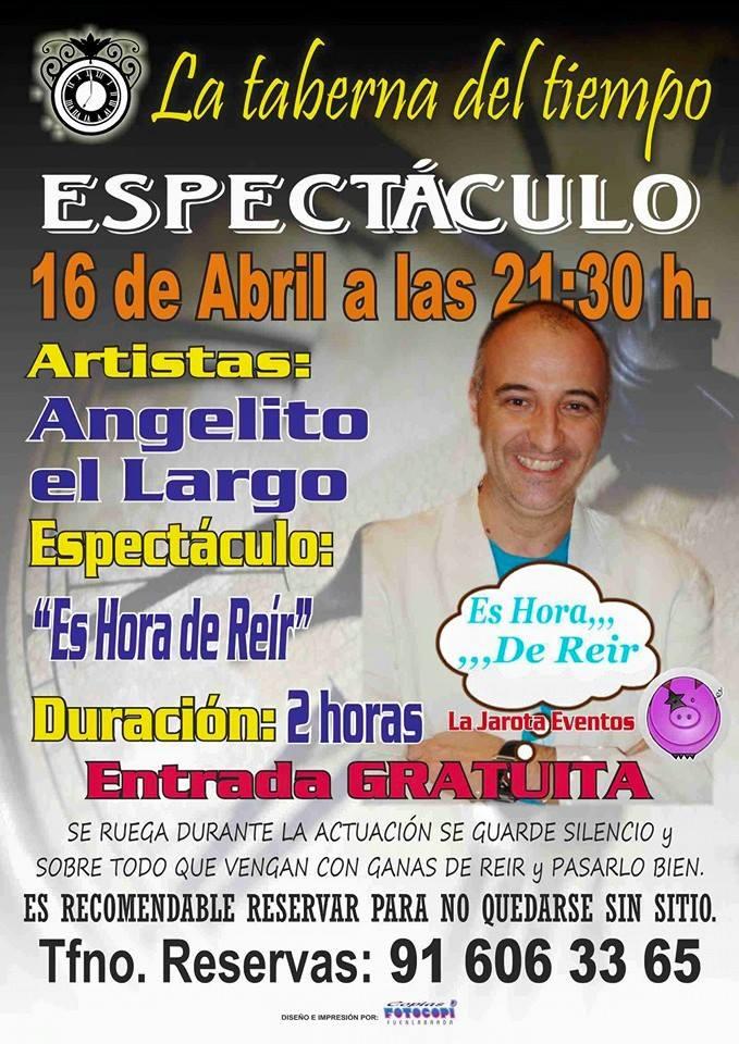 Angelito El Largo en La Taberna del Tiempo