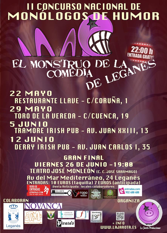 El Monstruo de la Comedia de Leganés - II Sedes de las Semifinales