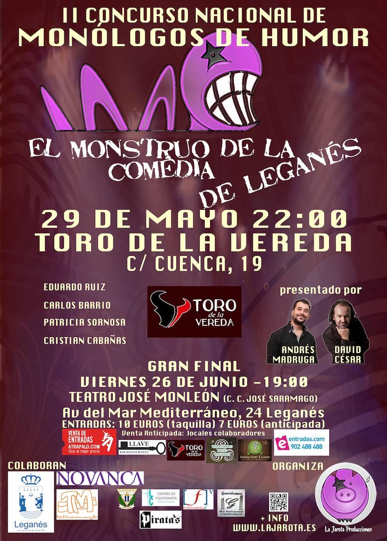 El Monstruo de la Comedia de Leganés - II¡Segunda Semifinal!