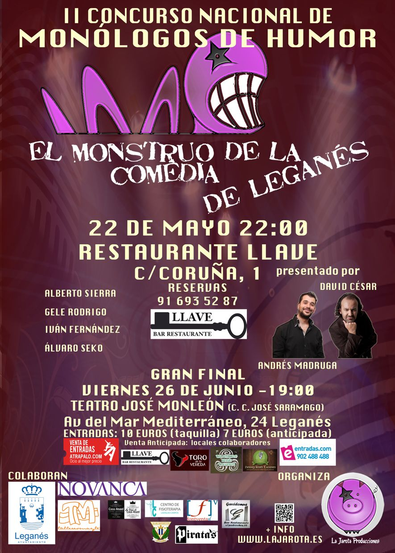 El Monstruo de la Comedia de Leganés - II ¡Primera Semifinal!