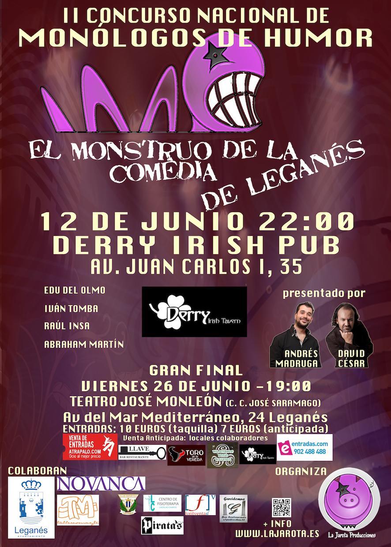 El Monstruo de la Comedia de Leganés - II ¡Cuarta Semifinal!