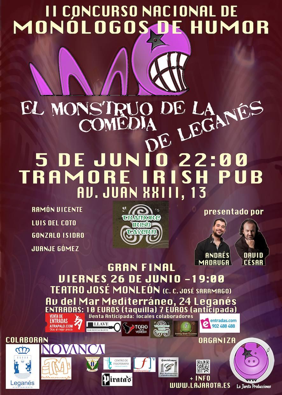 El Monstruo de la Comedia de Leganés - II¡Tercera Semifinal!