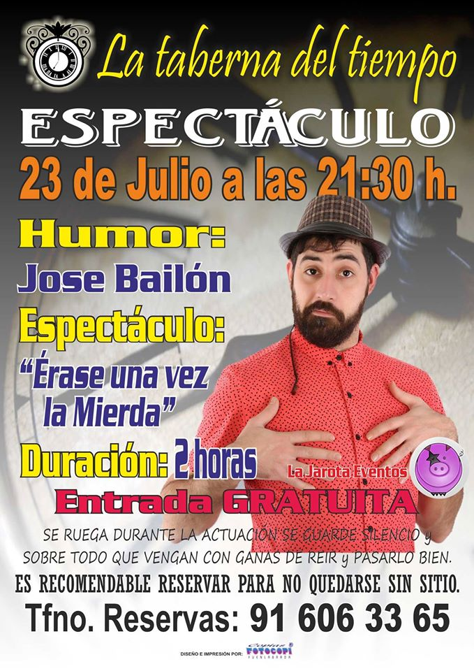 ¡José Bailón en La Taberna del Tiempo!