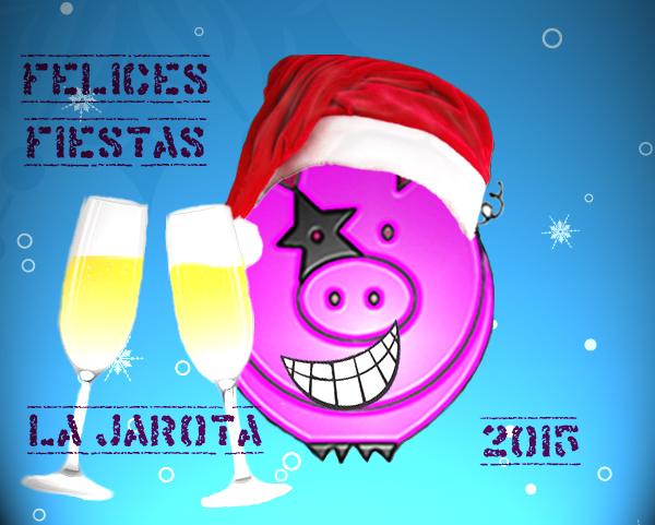 ¡La Jarota os desea felices fiestas y feliz 2016!