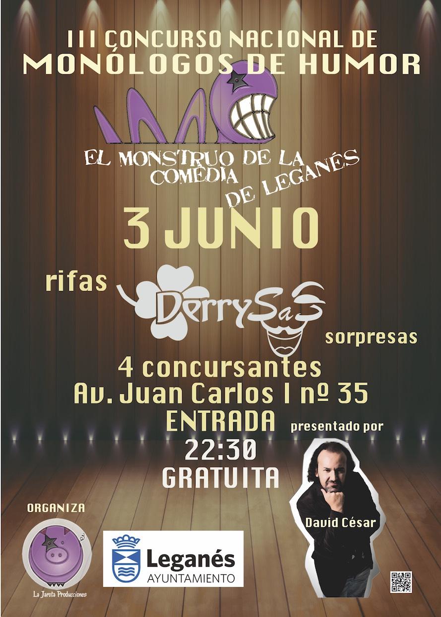 El Monstruo de la Comedia de Leganés - III ¡Cuarta Semifinal!