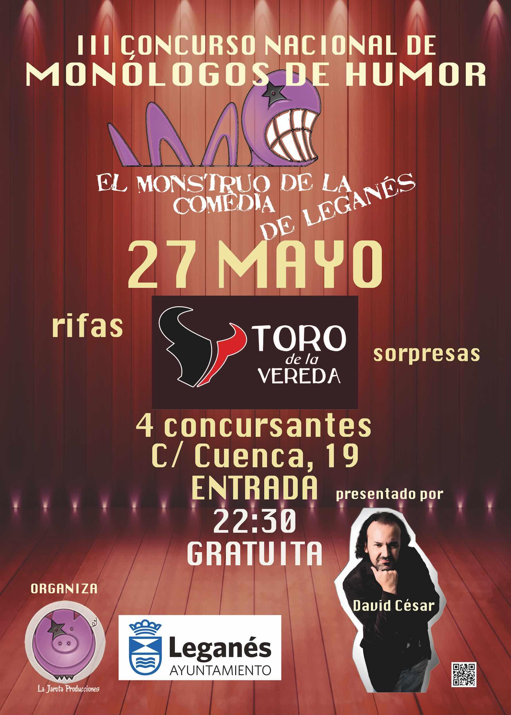 El Monstruo de la Comedia de Leganés - III ¡Tercera Semifinal!