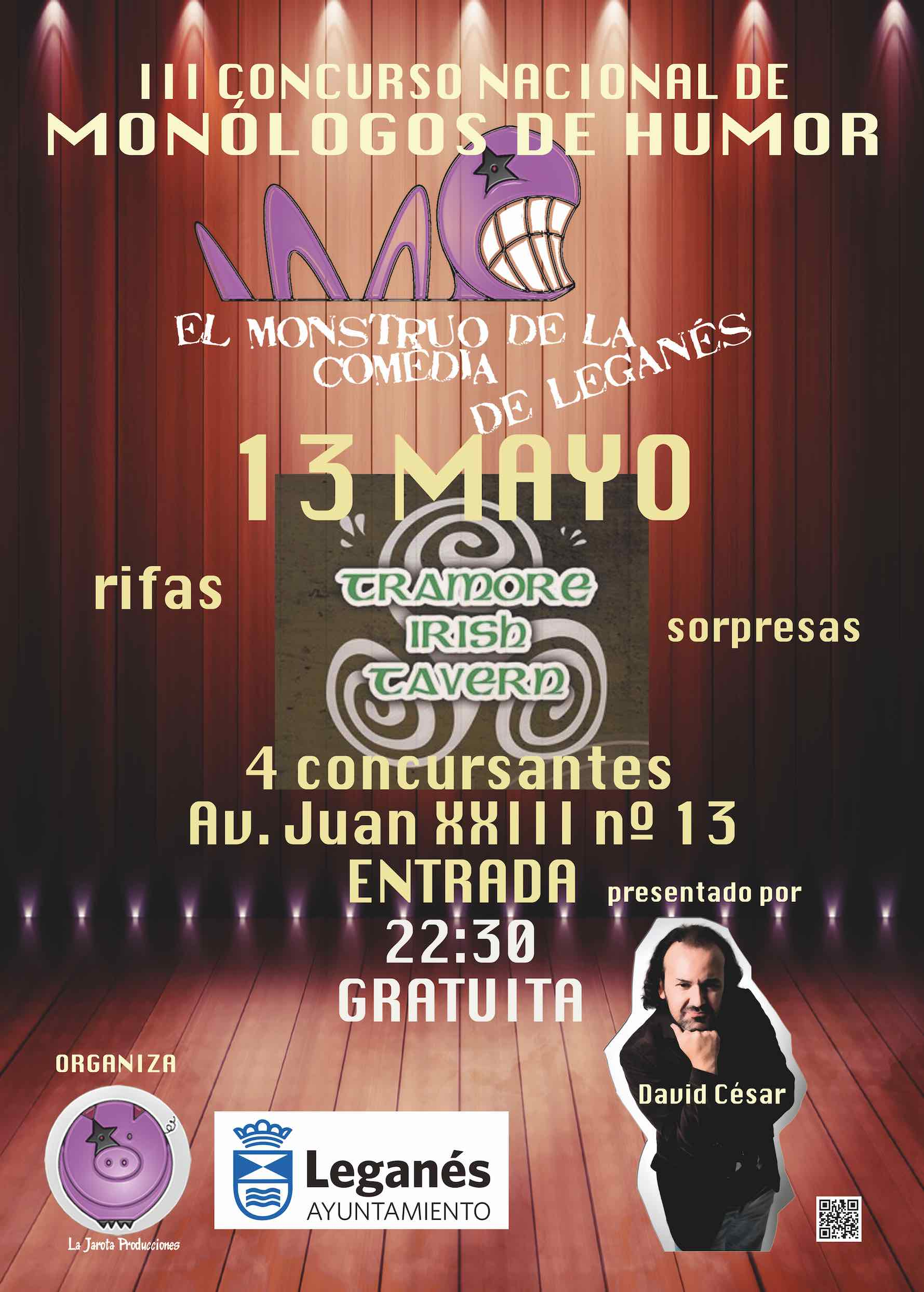 El Monstruo de la Comedia de Leganés - III ¡Primera Semifinal!