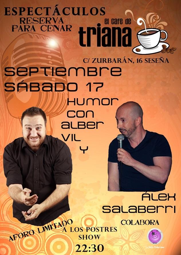 ¡Vuelve la comedia a El Café de Triana!