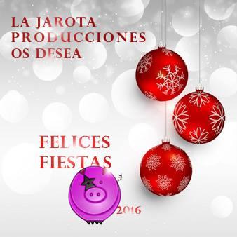 ¡La Jarota os desea felices fiestas y feliz 2017!