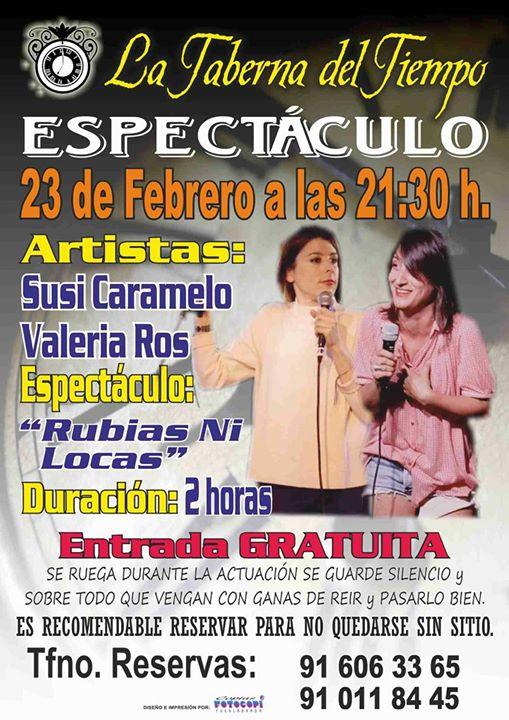 Valeria Ros y Susi Caramelo en La Taberna del Tiempo