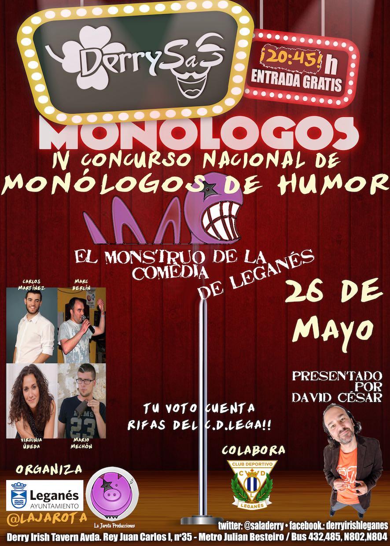 El Monstruo de la Comedia de Leganés - IV ¡Cuarta Semifinal!