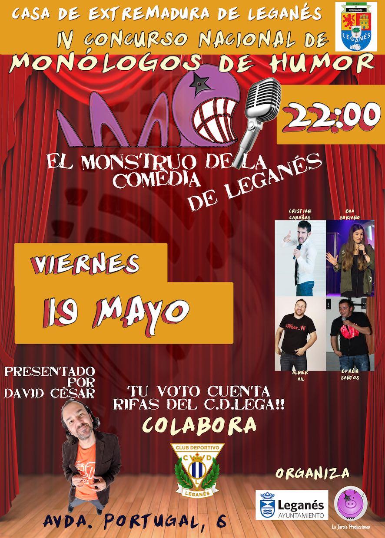 El Monstruo de la Comedia de Leganés - IV ¡Tercera Semifinal!