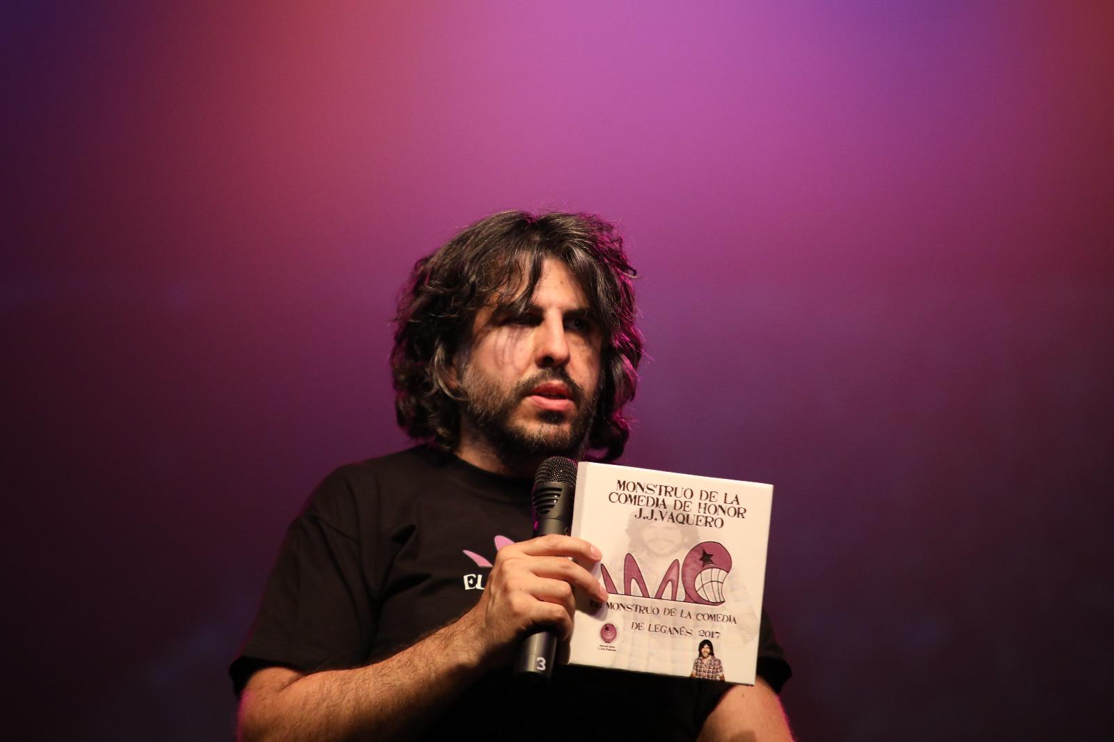 JJ Vaquero, padrino de El Monstruo de la Comedia IV