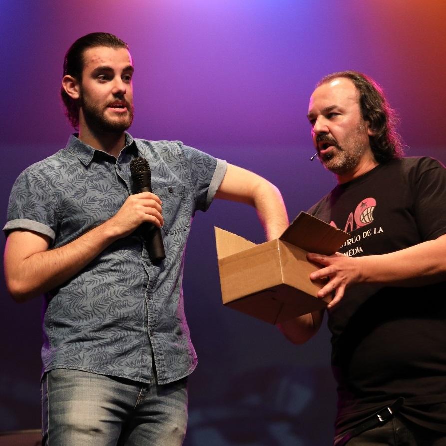 El Monstruo de la Comedia - IV - Gran Final - Carlos Martínez - Mención de Honor: Monstruo de la Comedia en Zarza