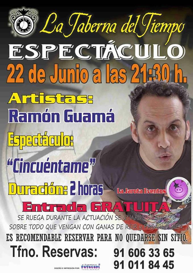 Ramón Guamá visita La Taberna del Tiempo