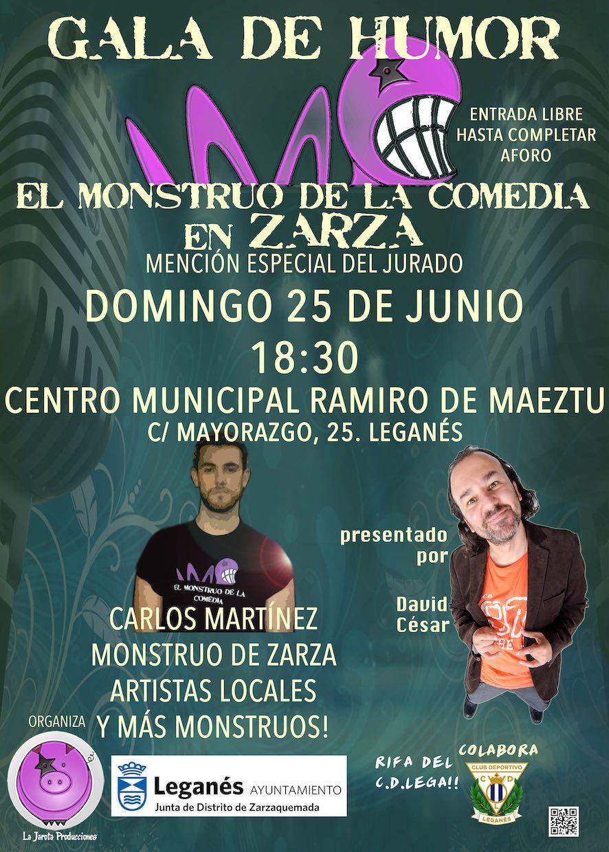 El Monstruo de la Comedia en Zarza