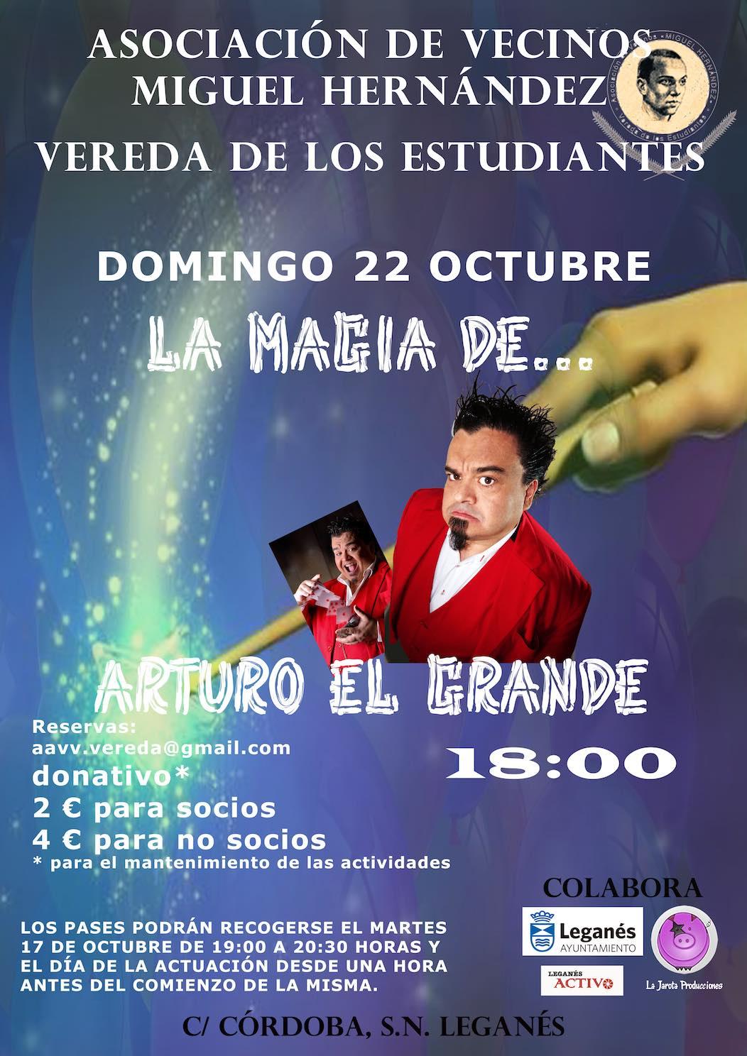 La magia de... Arturo El Grande