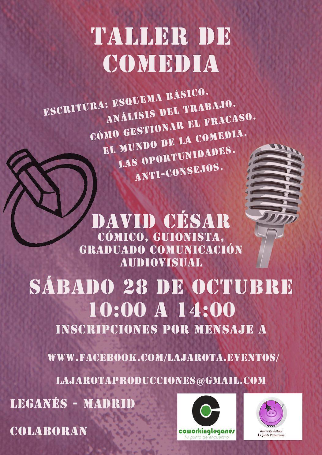 Taller de Comedia by David César