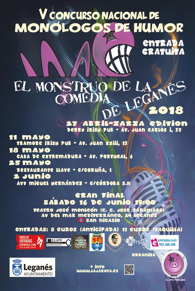 El Monstruo de la Comedia de Leganés - V Sedes Oficiales