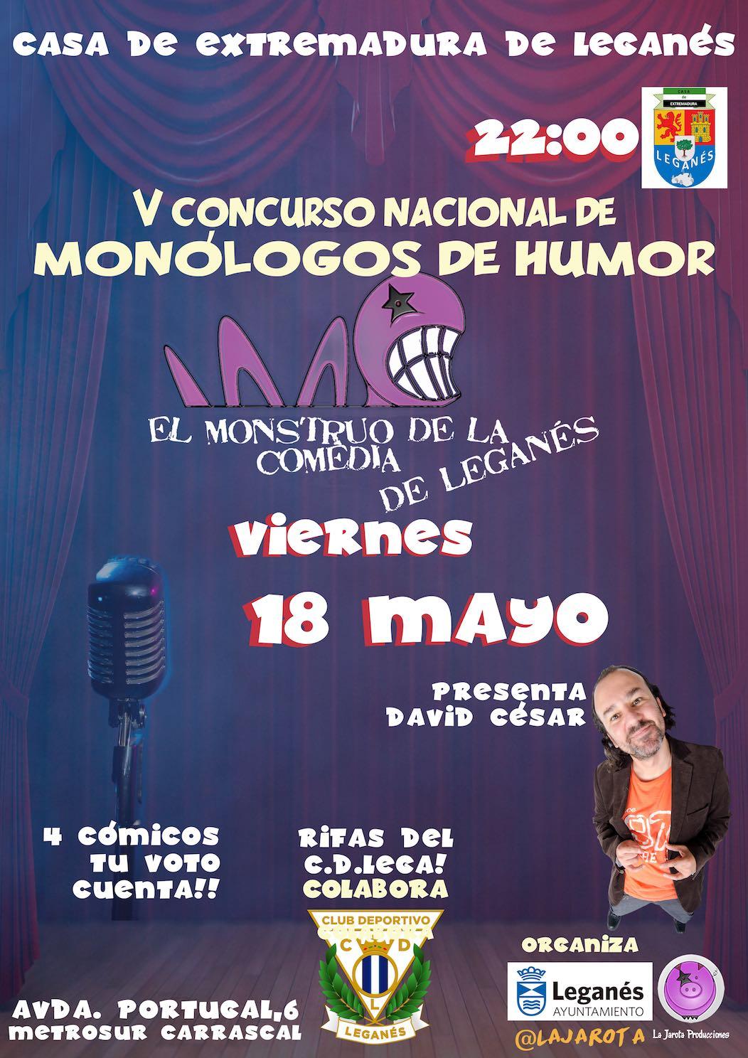 El Monstruo de la Comedia de Leganés - V ¡Segunda Semifinal!