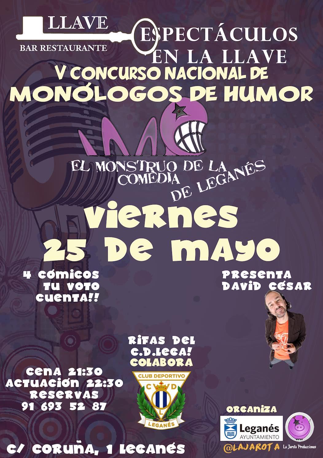 El Monstruo de la Comedia de Leganés - V ¡Tercera Semifinal!