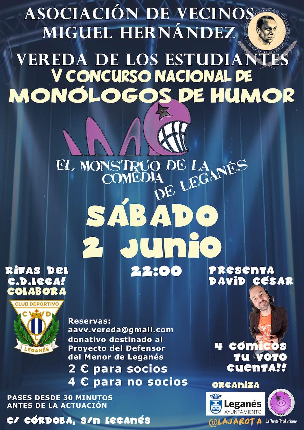 El Monstruo de la Comedia de Leganés - V ¡Cuarta Semifinal!