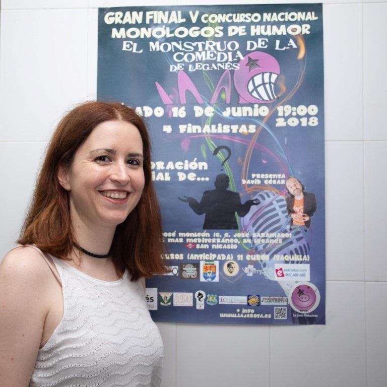 El Monstruo de la Comedia - V - Gran Final - Silvia Sparks - Cuarto Premio