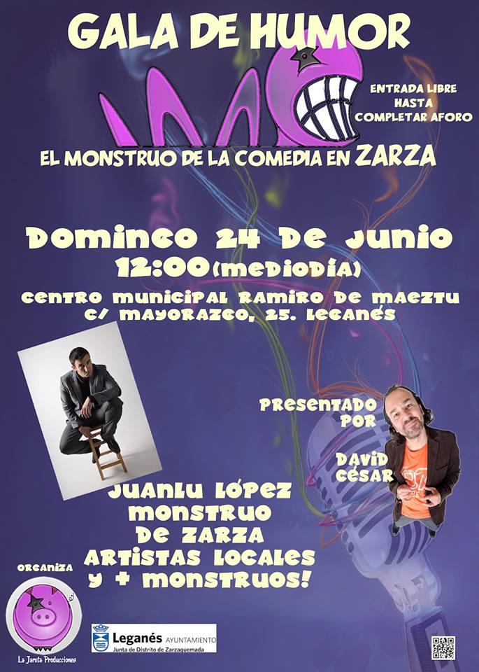 """Gala de Humor """"El Monstruo de Zarza"""""""