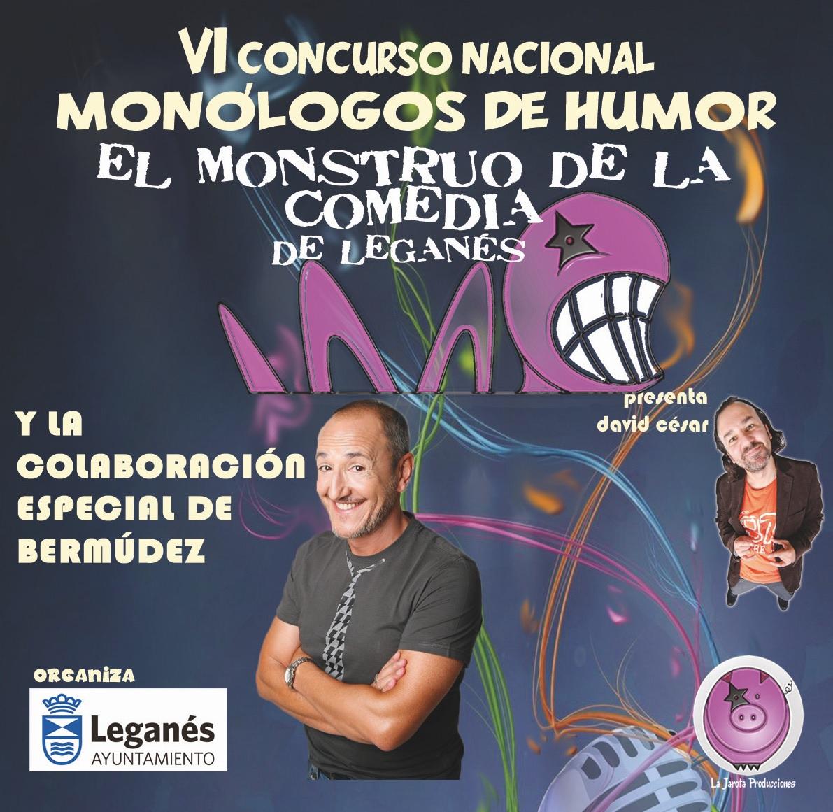 """Bermúdez, padrino de """"El Monstruo de la Comedia"""" de Leganés"""