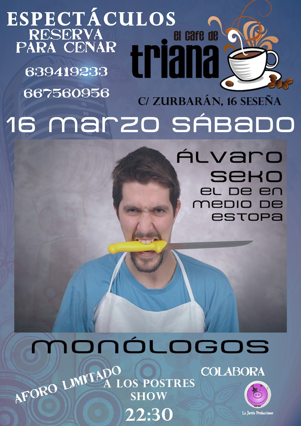 Álvaro Seko en El Café de Triana