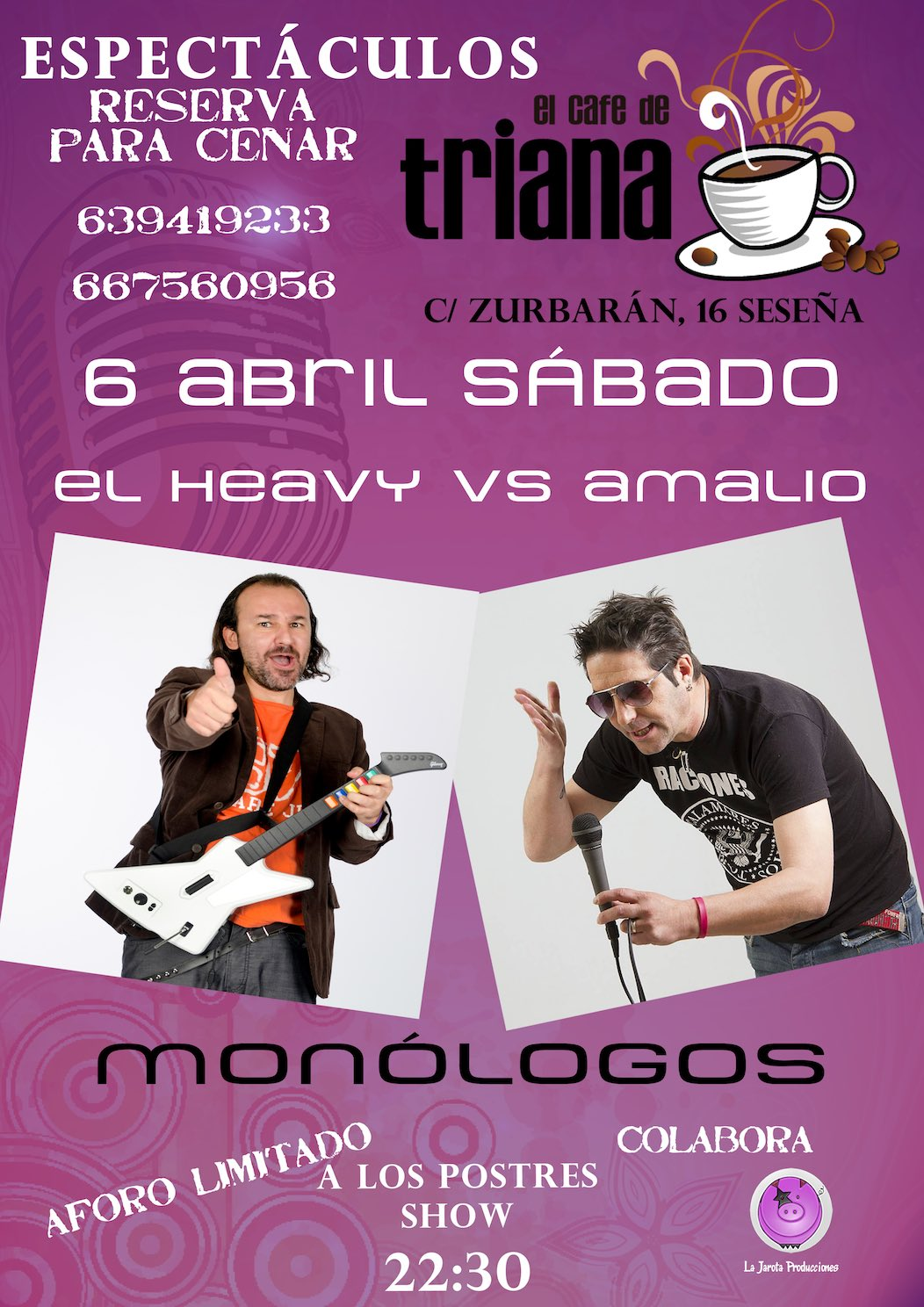 El heavy vs Amalio...