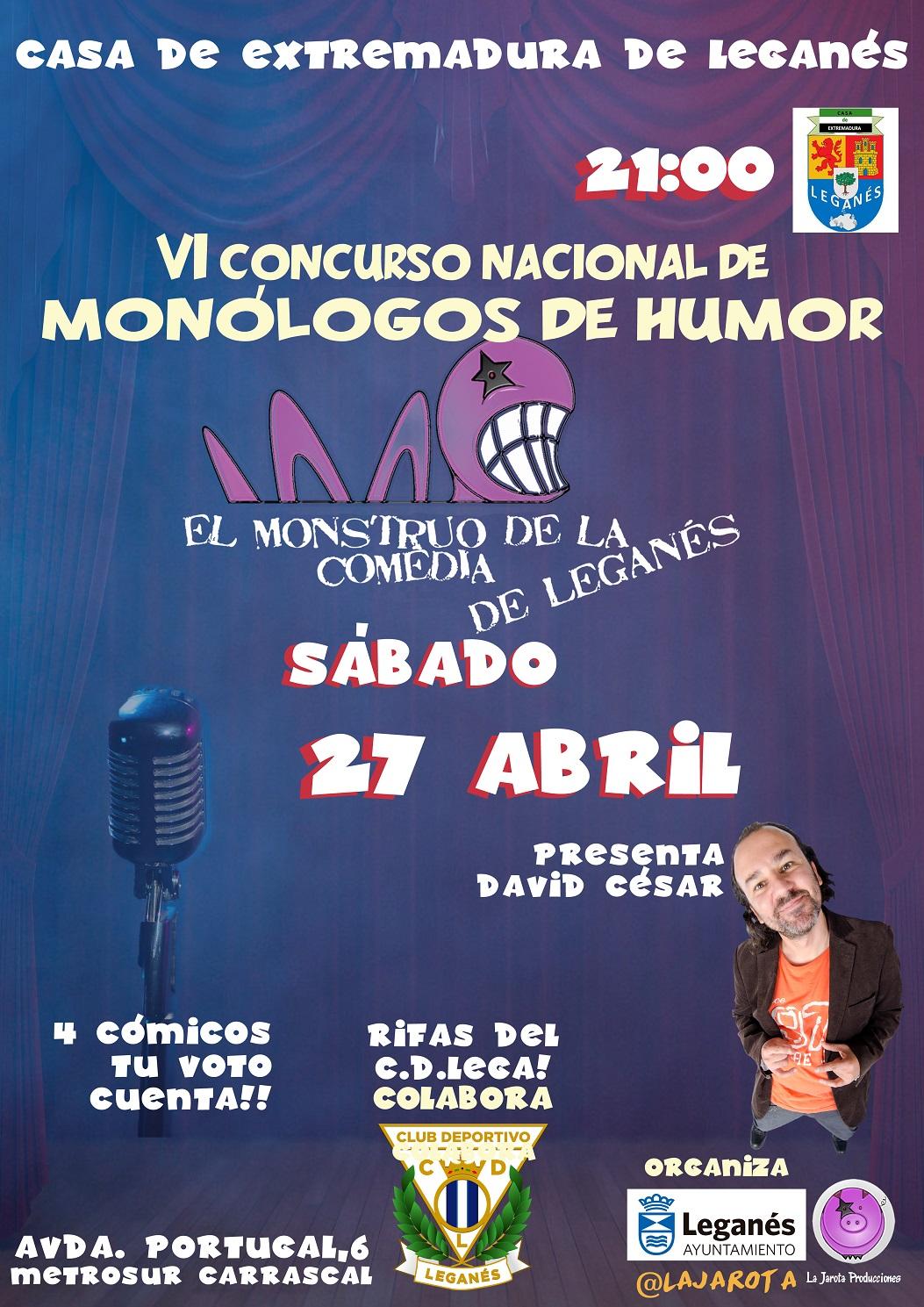 El Monstruo de la Comedia de Leganés – VI¡Tercera Semifinal!