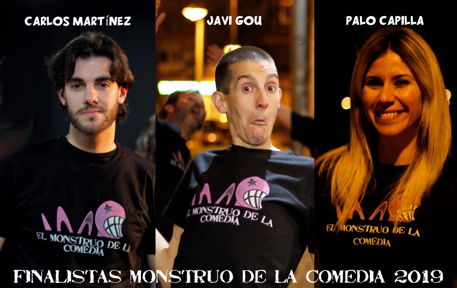 Finalistas de El Monstruo de la Comedia - VI