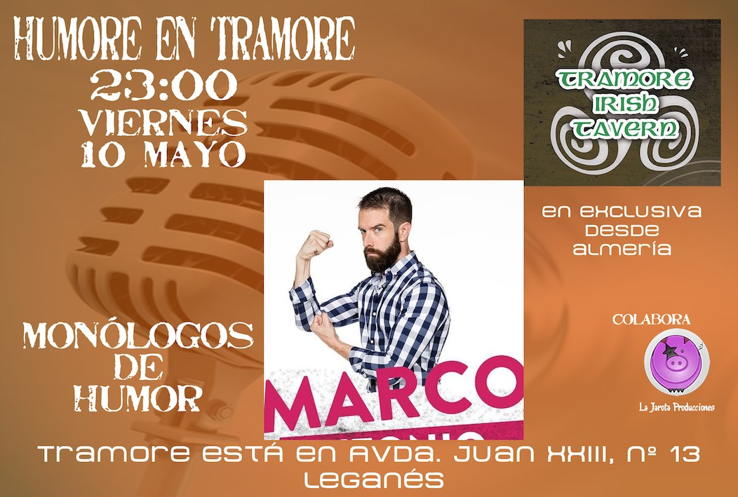 Marco Antonio en Tramore Irish Tavern