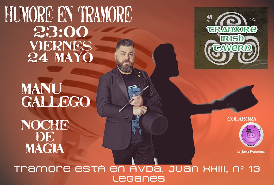 Manu Gallego en Tramore Irish Tavern
