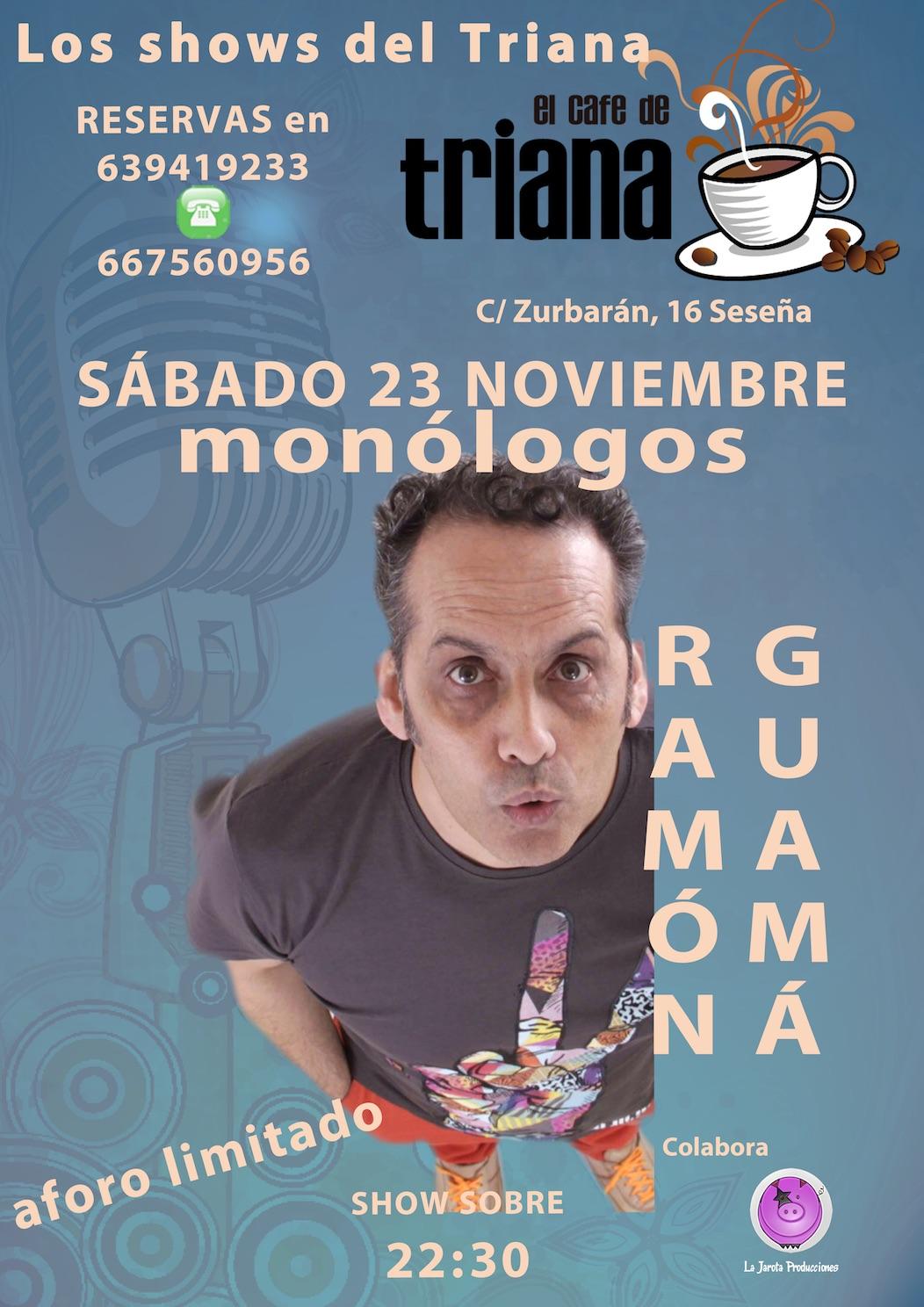 Ramón Guamá en El Café de Triana