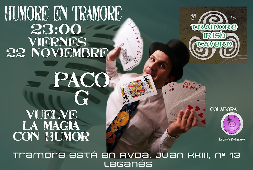 Paco G en Tramore Irish Tavern